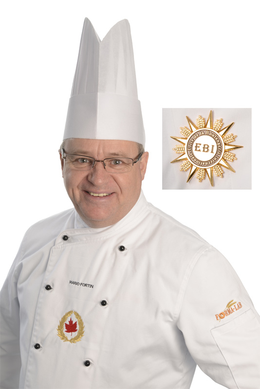 Mario Fortin, Elite of the Bakery International
